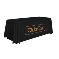 "CLUB CAR 6"" TABLE CLOTH"