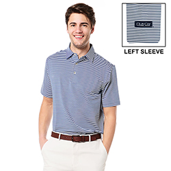 PETER MILLAR COMPETITION STRIPE STRETCH JERSEY
