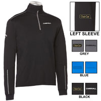 CALLAWAY MEN'S WATER REPELLENT 1/4-ZIP
