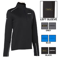 CALLAWAY LADIES WATER REPELLENT 1/4-ZIP
