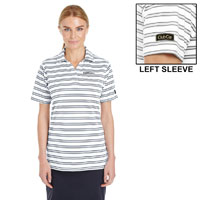 UNDER ARMOUR LADIES  TECH STRIPE POLO
